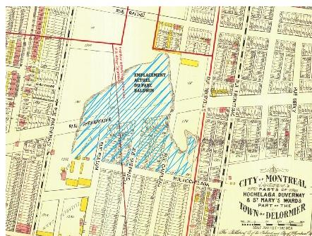 1907 Montreal Map